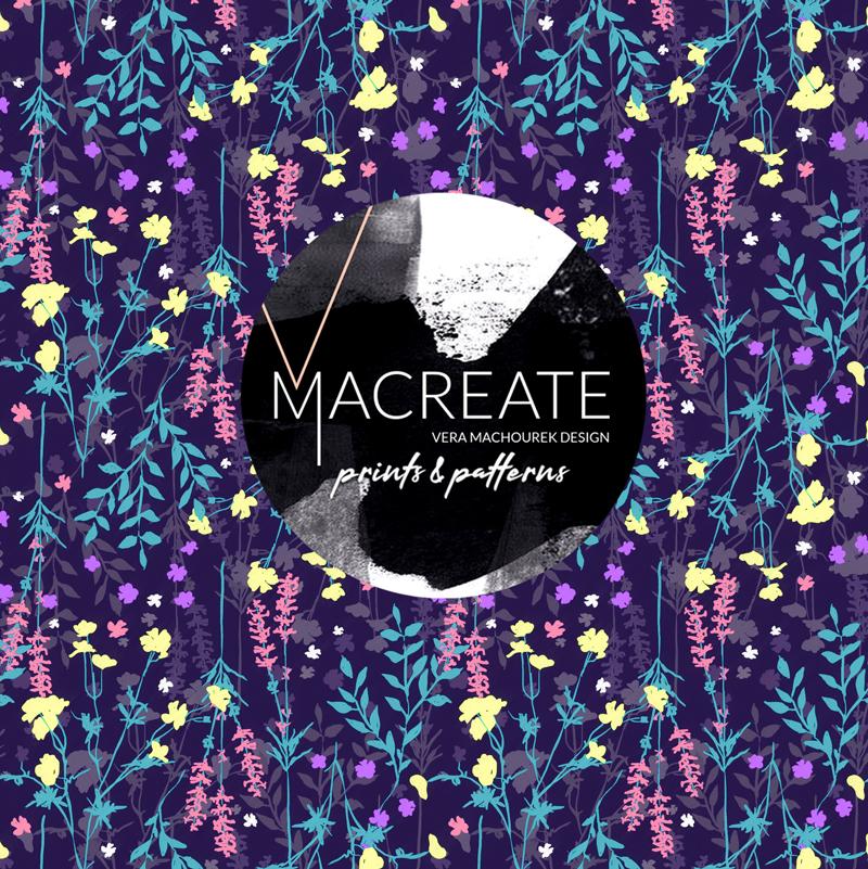 MACREATE Design Wildflower Pattern