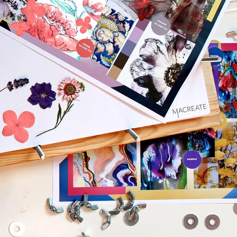 flower fashion trend moodboard by MACREATE