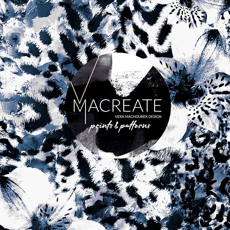 Leopard animal digital print by MACREATE