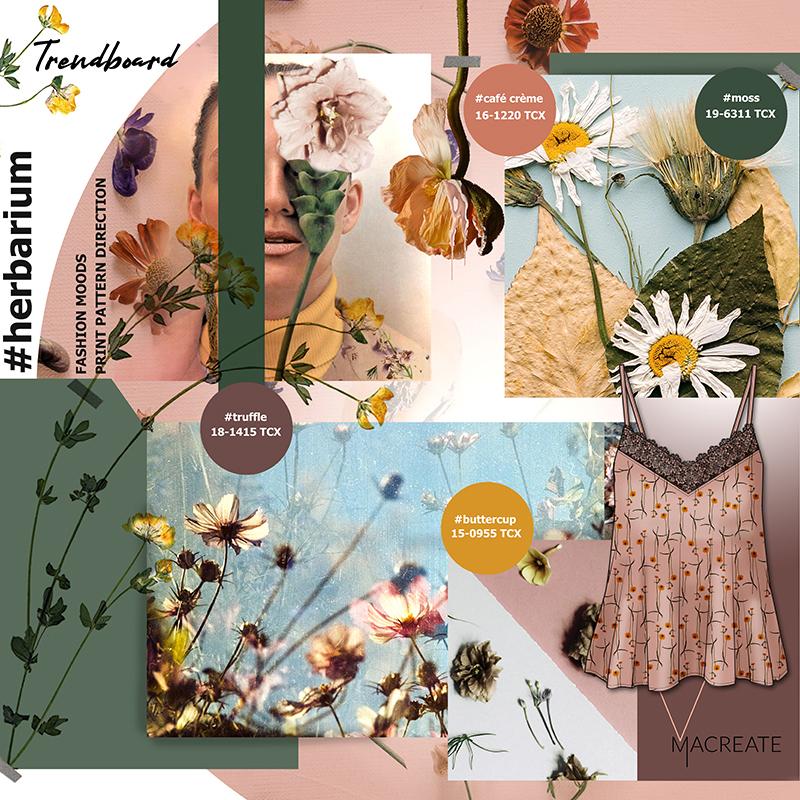 fashion trend moodboard by MACREATE Design