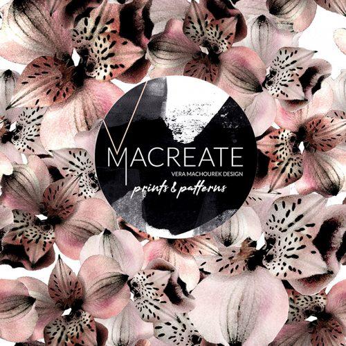 MACREATE Design Flower Print
