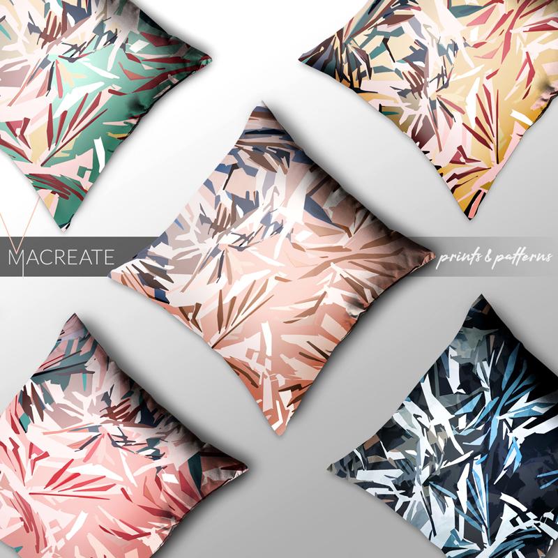 MACREATE Design abstract print